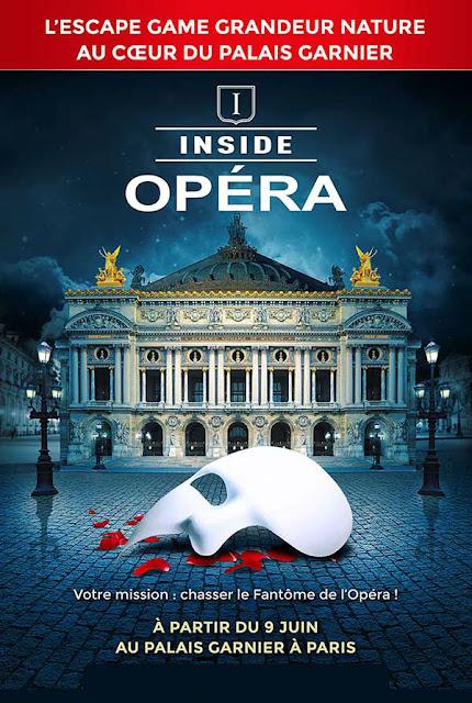 Cartel del juego Inside Opéra