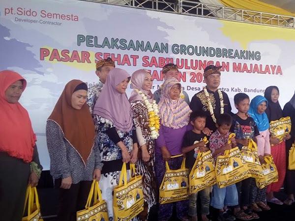 Groundbreaking Pasar Sehat Majalaya