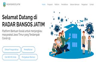 Daftar JPS Jatim Login radarbansos.jatimprov.go.id