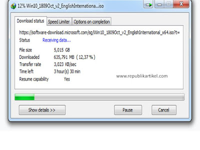 Cara Download Windows 10 Secara Legal Dengan Internet Download Manager
