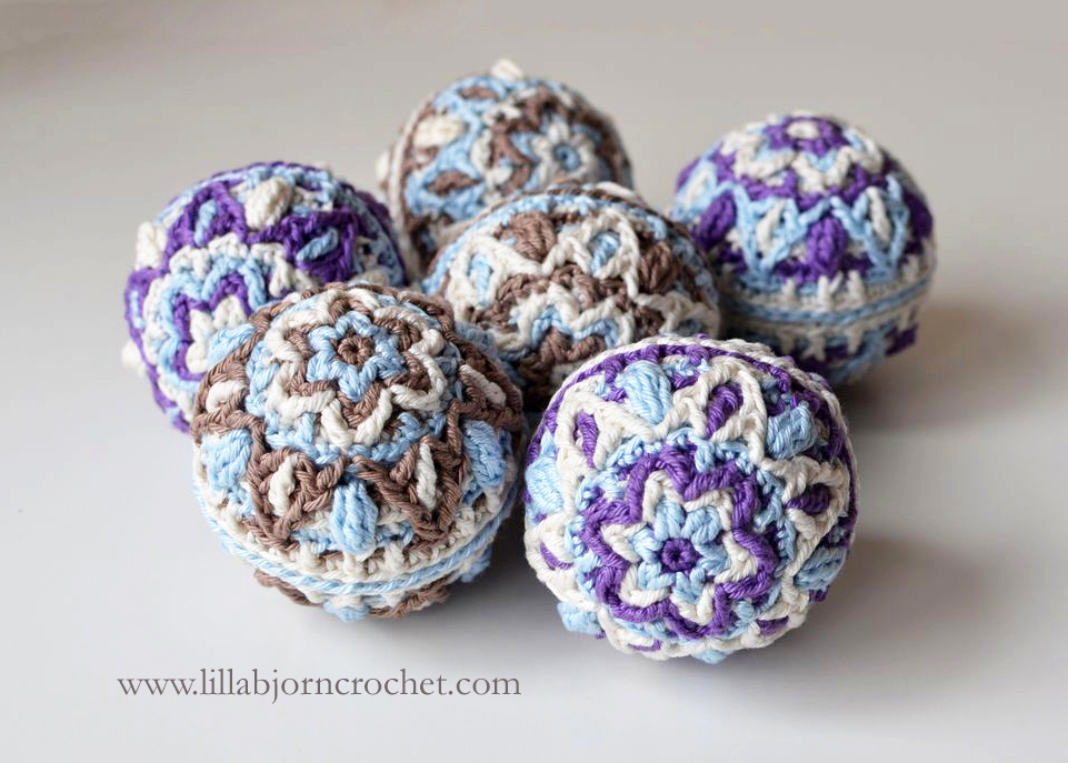 Winter Pastels Ball New Pattern Lillabjrns Crochet World