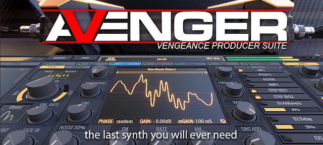 Vengeance Producer Suite Avenger 1.6.0 WIN/MAC (UNCRACKED)