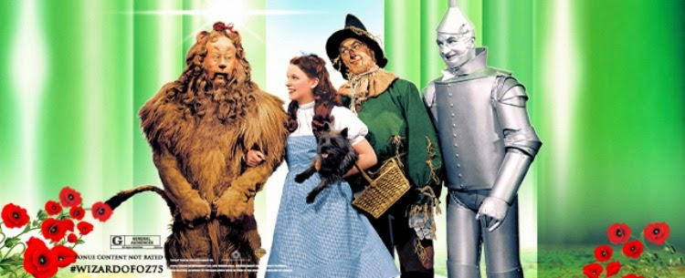 A Vintage Nerd, Vintage Blog, Classic Film Blog, Old Hollywood Blog, Wizard of Oz