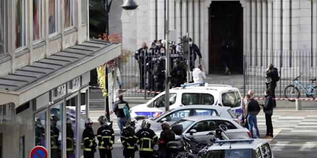 Police identify French church attacker as 21-year-old man from Tunisia