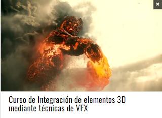 Curso de Integración de elementos 3D mediante técnicas de VFX
