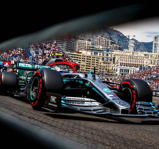 صور winning line at the Monaco Grand Prix 2019
