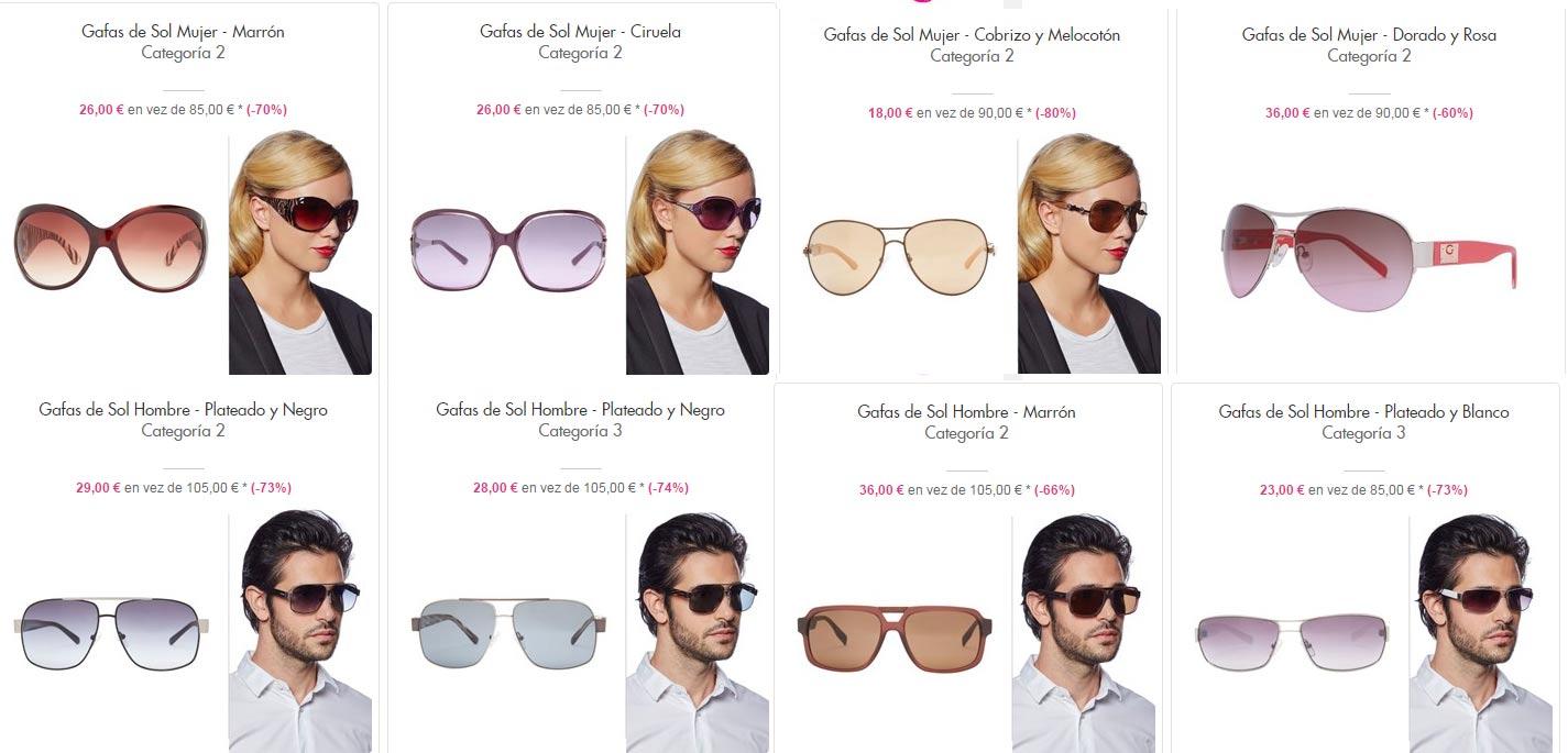 acafbf7ff Gafas De Sol Guess Aviador lespaques.es