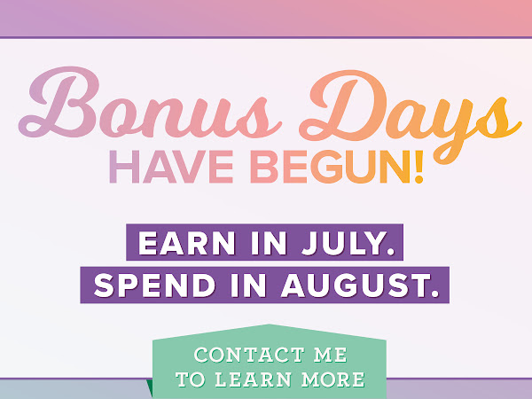 Just 3 Bonus days left to earn free product!