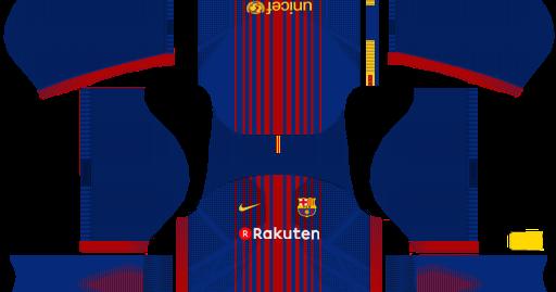 (DLS) FC Barcelona 2017/2018 HOME