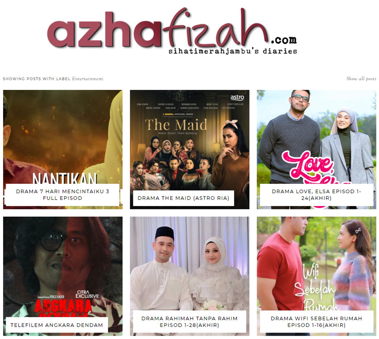 Drama dan Telefilem Melayu 2021
