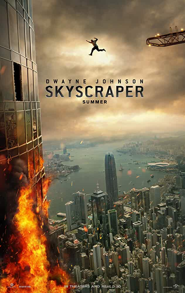 Skyscraper (2018) Download Full Movie Dual Audio {Hindi-English} BluRay 480p [350MB] || 720p [1GB] || 1080p [2.3GB] - Movieslake, MoviezFlix, Moviez Flix, MovieskiDuniya, 123movies, Moviesflix.org 720p Movies, 1080p Movies, Dual Audio Movies,