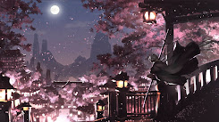 Night City of Sakura [Wallpaper Engine Anime]
