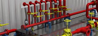 Sistem Kerja Gaseous Fire Suppression System Dalam Pertambangan