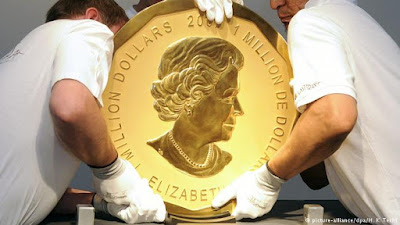Πολύκροτη δίκη : Πώς εκλάπη χρυσό νόμισμα 100 κιλών από το μουσείο Μπόντε;