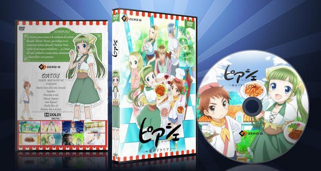 Piace: Watashi no Italian   Cover DVD  