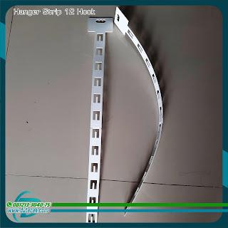 Gantungan Strip Plastik - Hanger Sell Strip