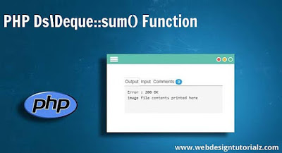 PHP Ds\Deque::sum() Function