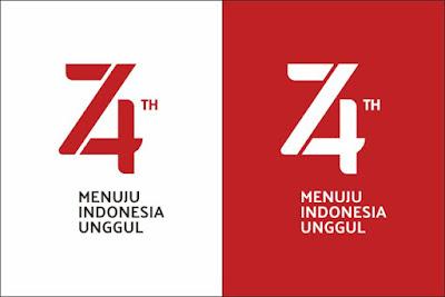 Logo dan Pedoman Peringatan HUT RI Ke 74 Tahun 2019