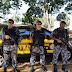 Policiais do BOE de Santa Maria, reforçam o policiamento de Bossoroca