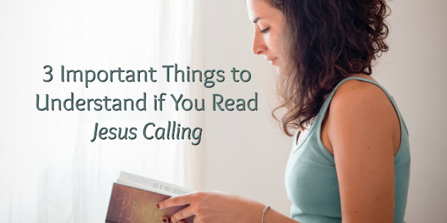 "If you are a Christian reading any of Sarah Young's popular books such as ""Jesus Calling,"" you need to be aware that she is not speaking for Jesus and her claims are dangerous. #JesusCalling #GodCalling"