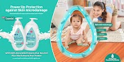 Upgraded Johnson's Milk+Rice range provides #PoweredUpProtection for growing babies