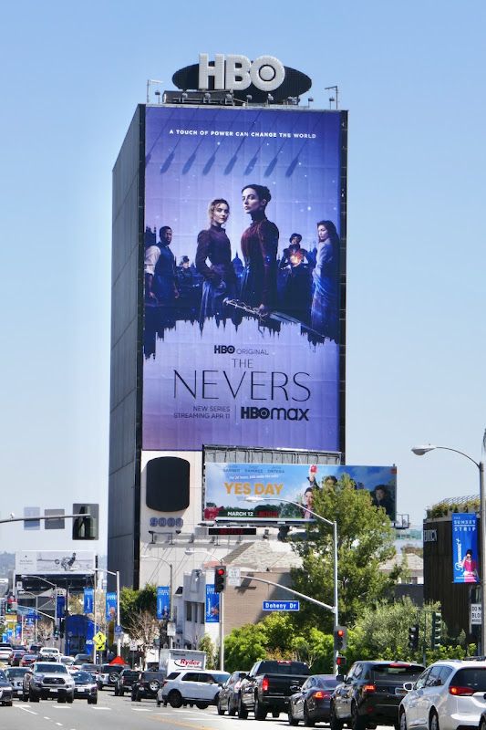 Giant Nevers series launch billboard