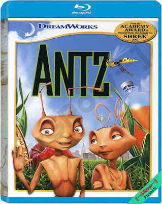 Antz 1998 Dual Audio BRRip 480p 120mb HEVC x265