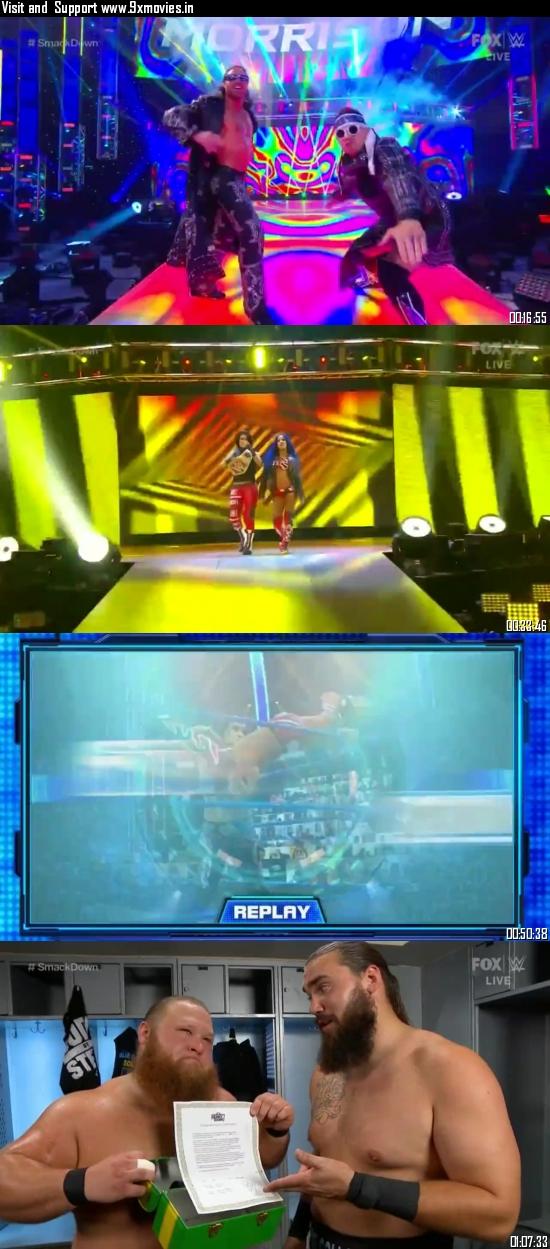 WWE Friday Night Smackdown 04 September 2020 HDTV 720p 480p 300MB
