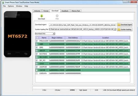 Download SP FLASH TOOL dan Cara Install