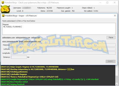 Download Update Terbaru PokeBot Ninja V55: Bot Pokémon GO Untuk PC/Laptop by TokekPintar.com