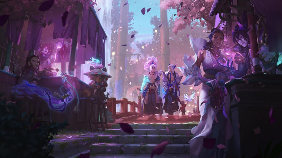 Spirit Blossom, Yasuo, Yone, LoL, 4K, #3.2657
