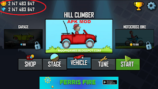 Download Game Hill Climb Racing Mod Unlimited Coins