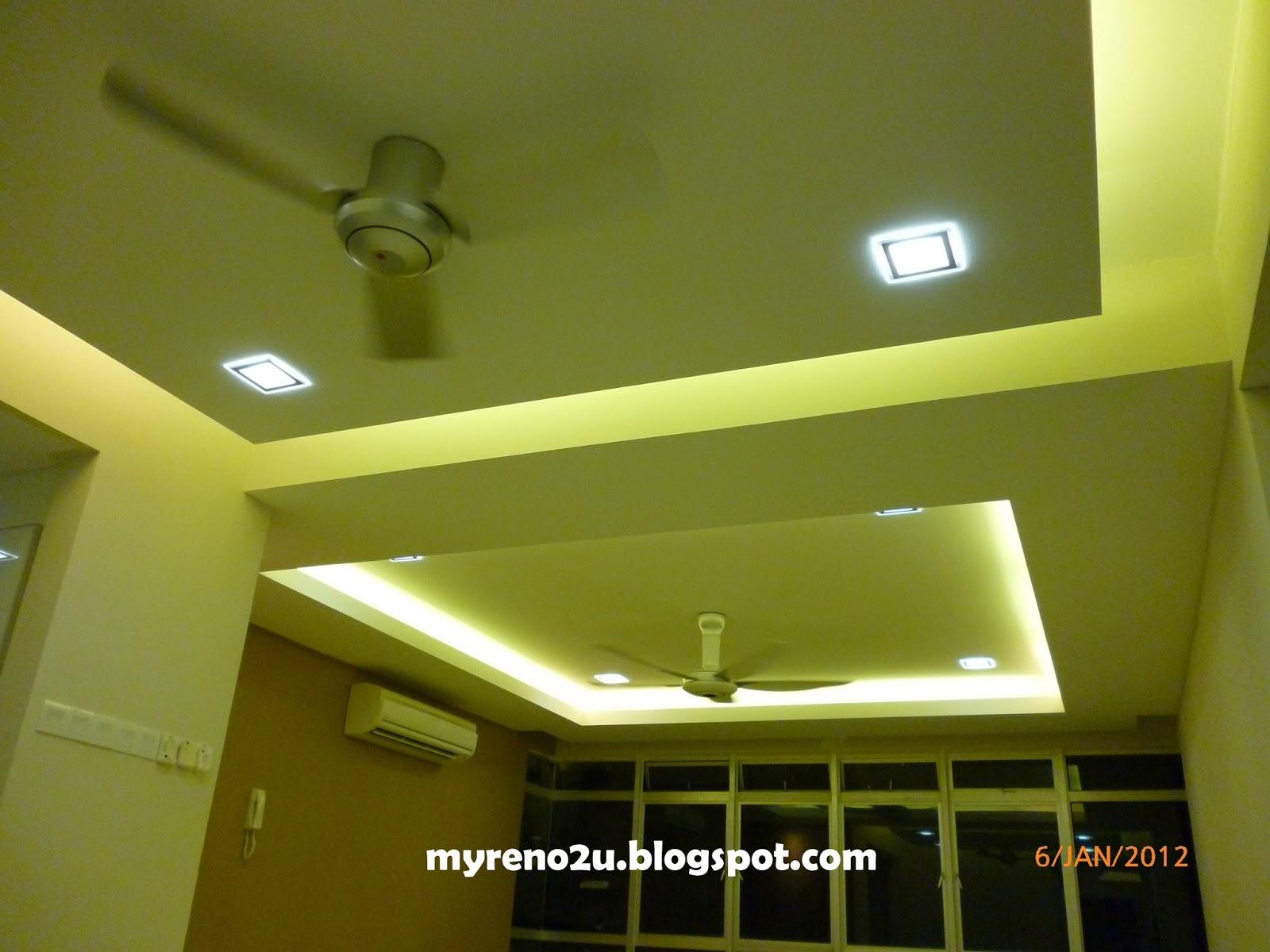 Plaster Ceiling Design Shah Alam MyReno2U