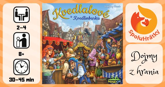 recenzia hry Kvedlalové z Kvedlinburku na blogu spoluhratky.eu