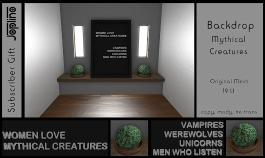Backdrop Mythical Creatures [Subscriber Gift 10/2018]