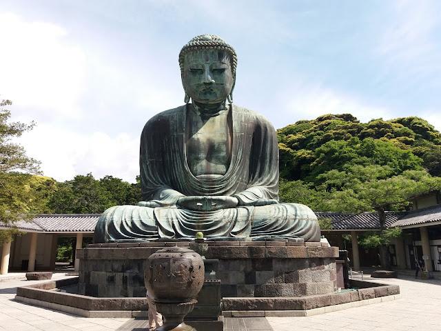 tempio di Kôtoku-in di Kamakura daibutsu bronzeo