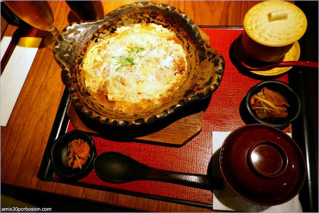 Katsu Toji Set del Restaurante Japonés Ootoya en Nueva York