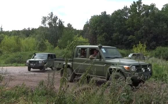 Toyota Land Cruisers of Ukraine army