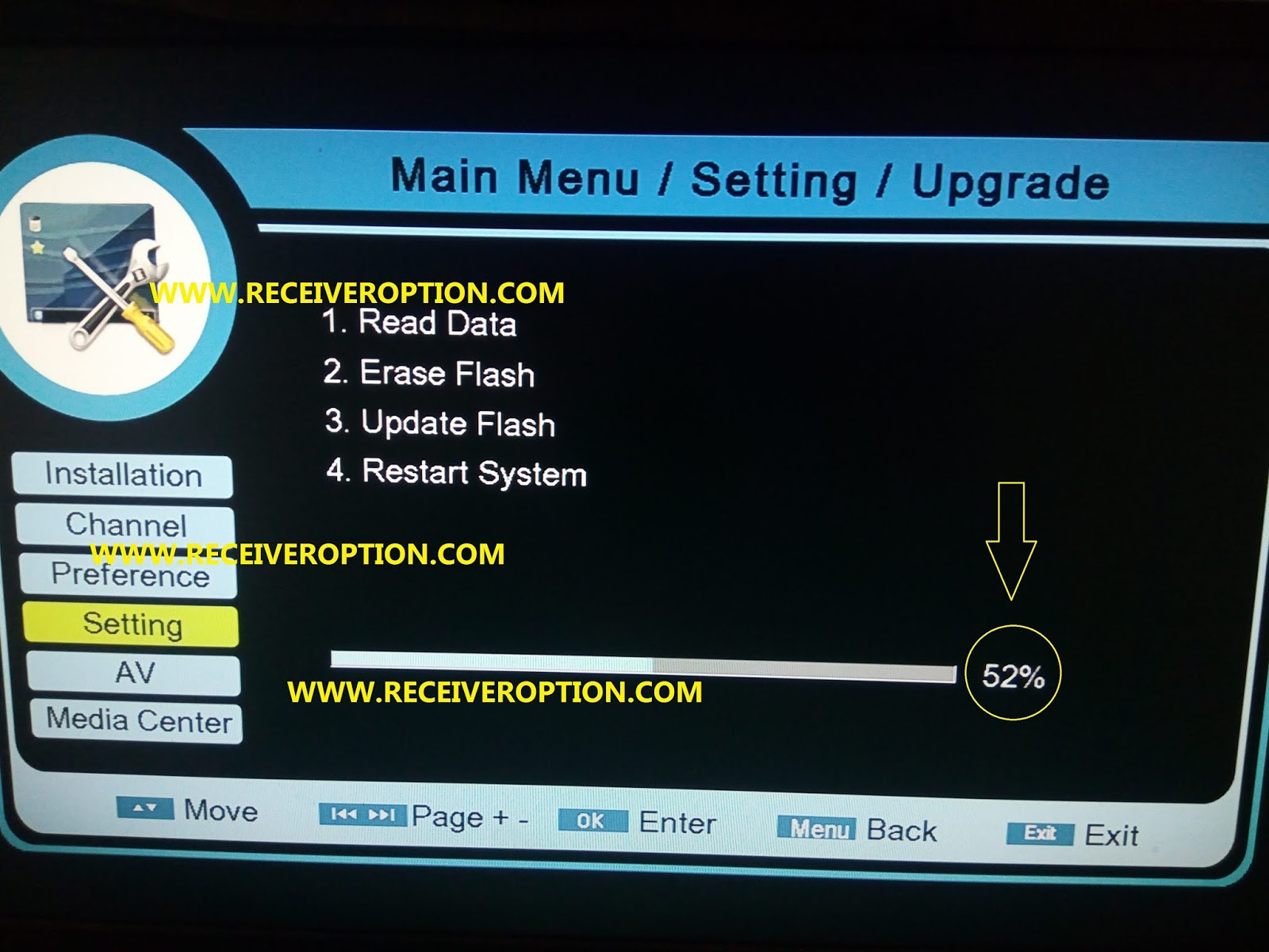 PROTOCOL 8MB HD RECEIVERS POWERVU KEY NEW SOFTWARE BY USB