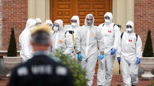 España supera a China en muertos por COVID-19 con 3434 fallecidos