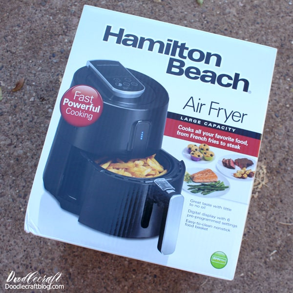 Hamilton Beach Air Fryer large 2.3 quart size.