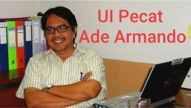 Petisi Online Universitas Indonesia Pecat Ade Armando Tembus 27ribu Tandatangan