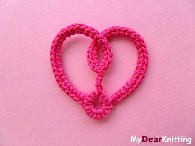 секреты вязания сердечка крючком в видео мастер-классе
