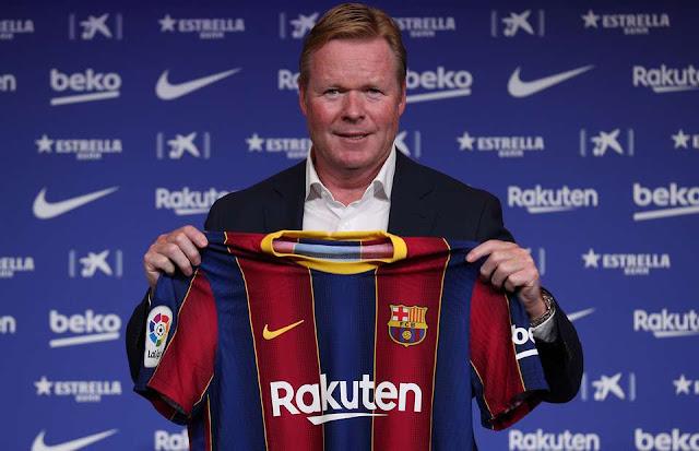 Prediksi Perubahan Barcelona Setelah Mengganti Pelatih Baru Ronald Koeman