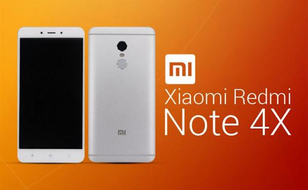 Spesifikasi dan Harga Xiaomi Redmi Note 4X