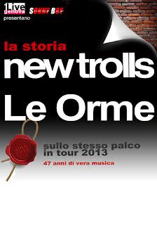 I New Trolls e Le Orme insieme in concerto