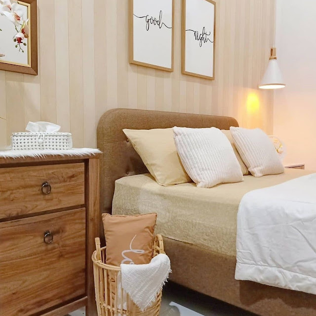 Desain Kamar Tidur Ala Korea Bernuansa Coklat