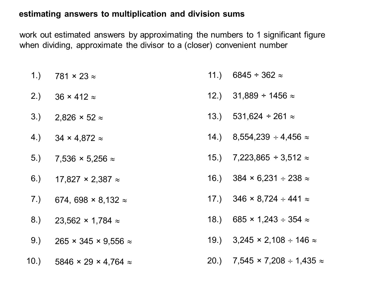 Median Don Steward Mathematics Teaching Estimating Sums