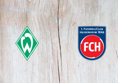 Werder Bremen vs Heidenheim -Highlights 30 October 2019