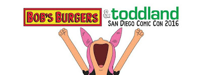 San Diego Comic-Con 2016 Exclusive Bob's Burgers x toddland Clothing Collection